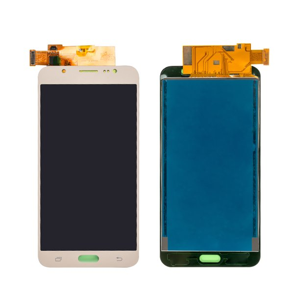 15PCS ajuster la luminosité de l'écran LCD pour Samsung Galaxy J7 2016 J710 SM-J710f écran tactile Digitizer Assembly
