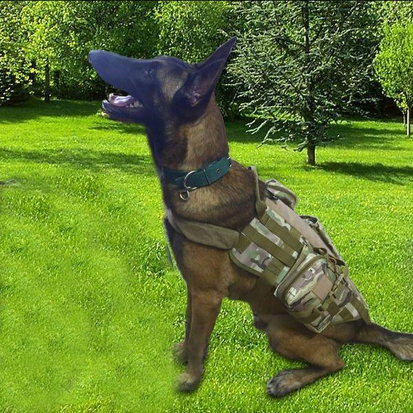 Outdoor Tactics Equipment Police Dog Equipment Patrol Dog Mountain Wear Jackets Pet Set Dog Hunting Pet Clothes