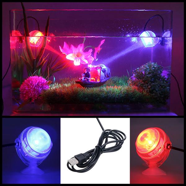 Kapalı LED Sualtı Lamba Su Geçirmez LED Akvaryum Işık Mercan Resif Balık Tankı için Dalgıç Akvaryum Işık Spot Lamba