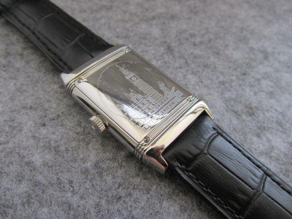 27x46mm Reverso Ultra Thin Q2788570 Stainless Steel Tribute To 1931 London Edition Quartz MEN WOMEN WATCH high quality waterproof wristwatch