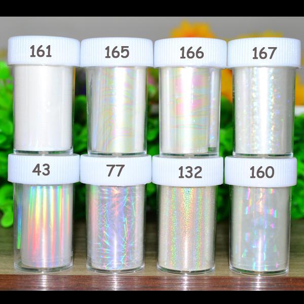 1pc Holographic Nail Foils Starry Sky Glitter Foils Nail Art Transfer Foil Sticker Paper Wraps DIY Foil Accessories