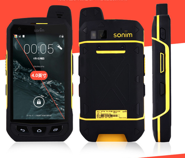 Sonim XP7700 cell phone rugged Android Quad Core waterproof phone shockproof 3g 4g LTE FDD luxury phone Hot Sale 2018 New Arrival