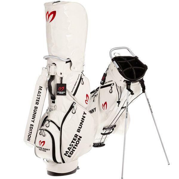 Saco De Golfe PG Pearly Gates Golf Stand Bag Couro PU Golf Clubs Bag 4 Cores