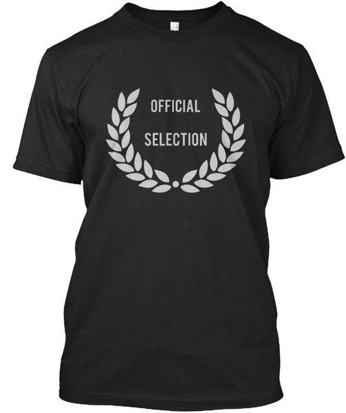 Selección oficial! - Selection Standard Camiseta unisex Classic Cotton Men Round Collar Manga corta