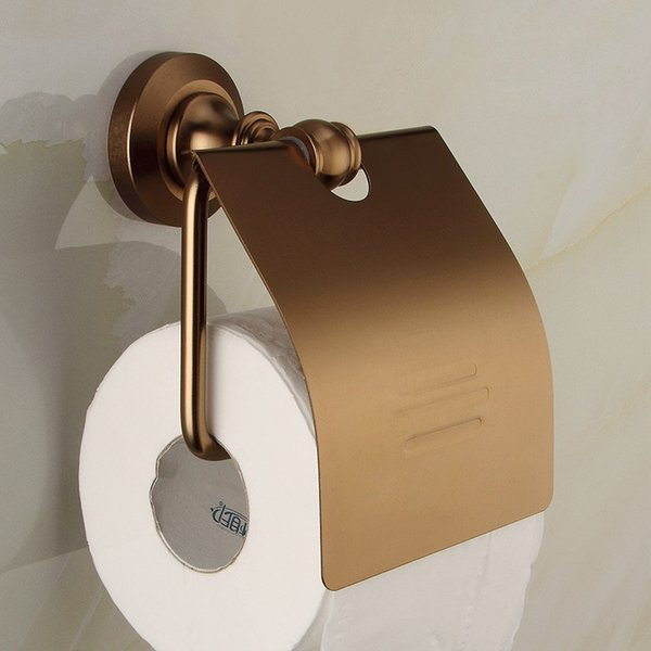 Toilet Brush Holder MetalMaterial Antique Towel Ring Hook Toilet Paper Holder Paper Storage Wall Bathroom Accessories Set 7000