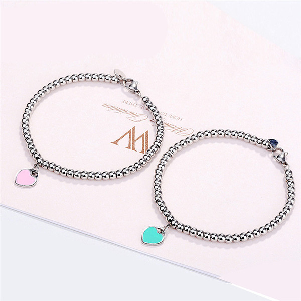 top popular GS Stainless Steel Bangles For Women Ladies 2018 Summer Fashion Woman Bracelet Homme Wedding Engagement Jewelry G5 2021