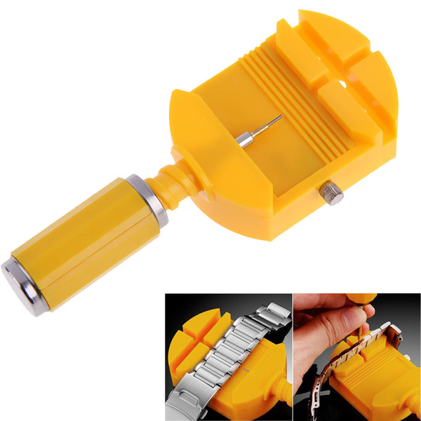 Watch Link For Band Slit Strap Bracelet Chain Remover Adjuster Repair Tool Kit 28mm with Free 5 Pins For Men/Women Watch
