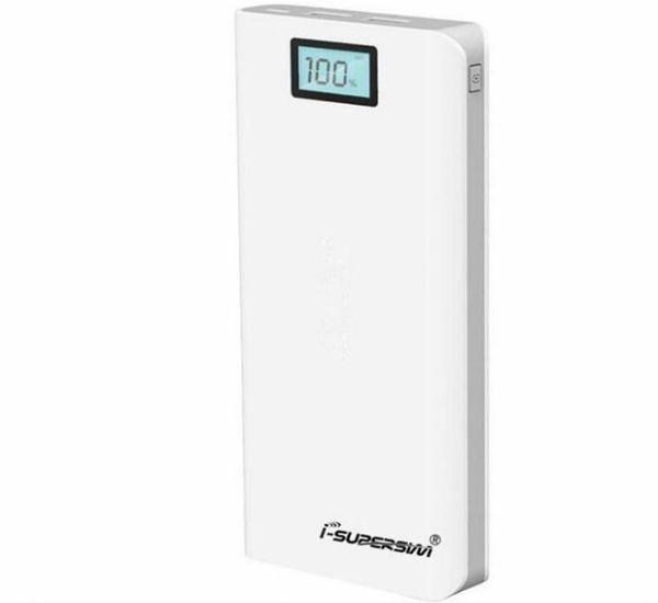Novo banco de energia portátil powerbank 20000 mah duplo usb carregador de bateria de backup externo para o telefone inteligente iphone 6 6 plus samsung s6 edge plus