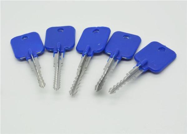Boa Venda 5 em 1 Serralheiro Experimentar Chaves Set Lock Pick Ferramenta de Abertura para Cross Lock