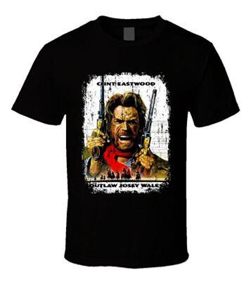 The Outlaw Josey Wales Movie 70s T Shirt