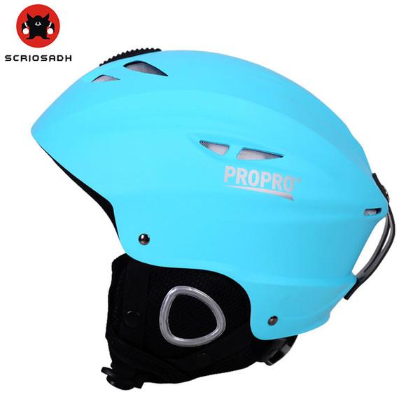 PROPRO Snowboarding Helmet Men Women ABS Impact Resistance Windproof Keep Warm Skating Cap Unisex Outdoor Sports Skiing Helmet