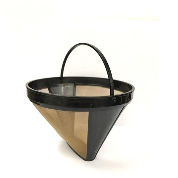 Stainless Steel Coffee Filter Nylon Cloth Mesh Strainer Funnel High Temperature Resistant Cone Shape Coffee Tools Durable 5 5xr BB