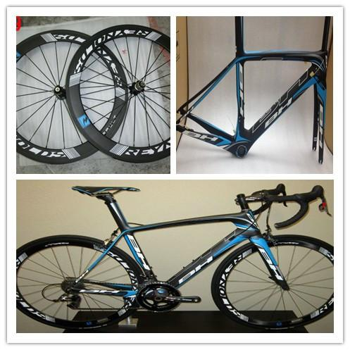 BH G6 Carbon Complete Road Bike Full Carbon Fiber Road Bicycle With Fit Both DI2 and Mechanical Group