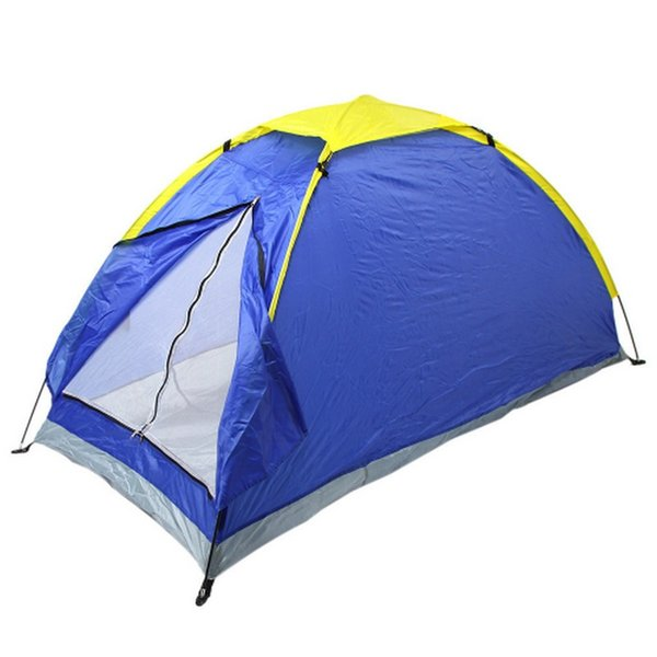 Outdoor camping Beach Tent Two Person Beach Tents UV-resistant Single Layer Fishing Tent with Carry Bag for Hiking Traveling