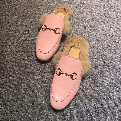 핑크 가죽