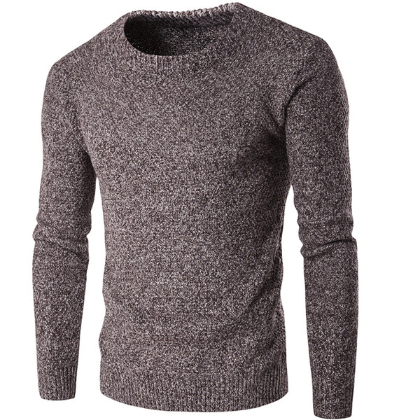 Imported Winter Sweaters For Men Slim Fit England Style Vintage Mens Cashmere Sweaters Pullover Mens Knitted Sweater S2600