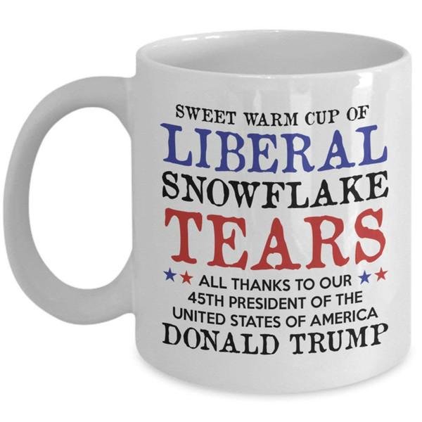 Liberal Gözyaşları Kupa Tatlı Sıcak Liberal Gözyaşları Kahve Kupa