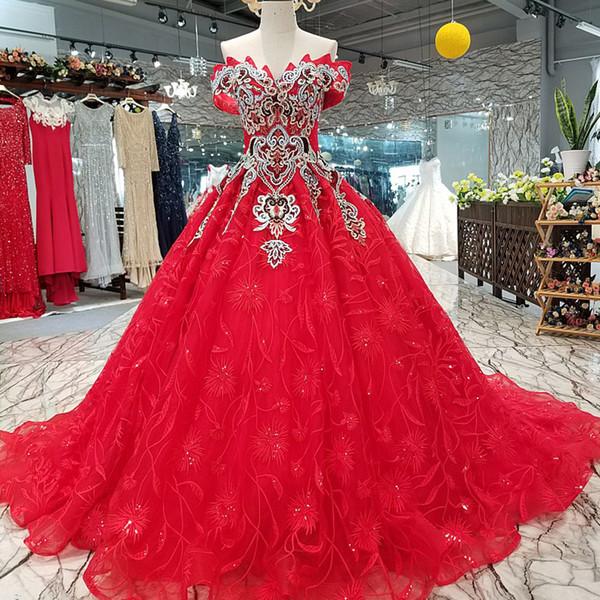 2019 старинные цветы красные свадебные платья выпускного вечера с плеча возлюбленной красоты вечернее платье быстрая доставка платья выпускного вечера долго