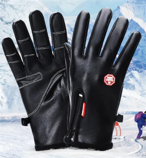 Handschuhe & Fäustlinge Voll Finger warmen Radsport Handschuhe schwarz weiss