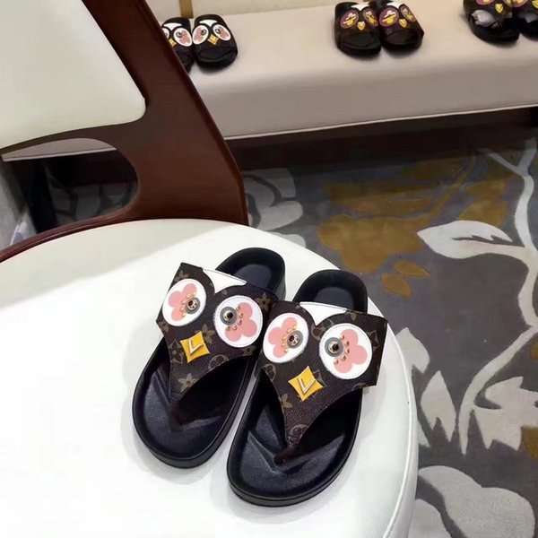 New special printed fabric chick slippers Women Casual Handmade Walking Tennis Sandals Slippers Mules Slides Thongs