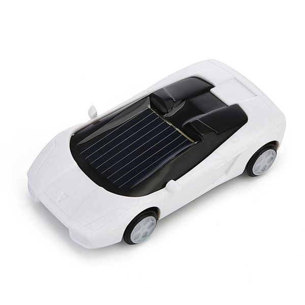 100% brand new and high quality Solar Powered Mini Car Racer Toy For Kids Solar Energy Educational Gadget Gift free shipping
