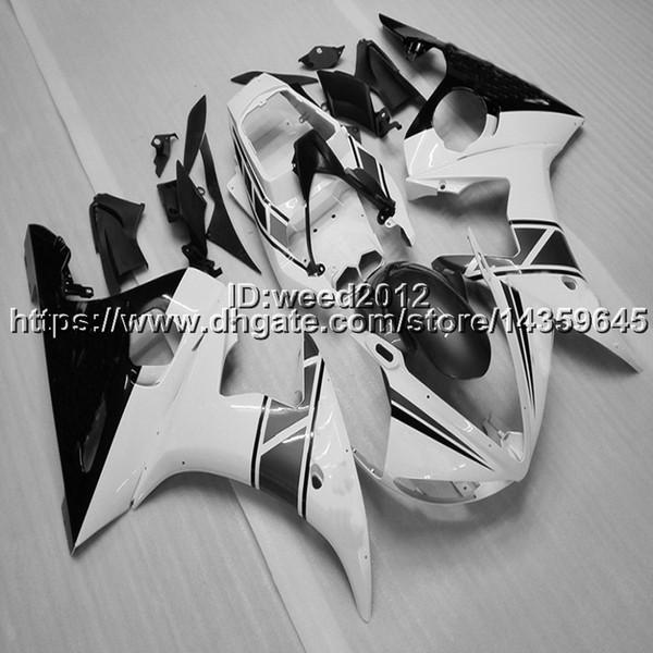 fabricante personalizar YZF R6 2003-2004-2005 mercado de accesorios de motocicletas para YAMAHA YZF R6 2003-2004-2005 plástico ABS kits de carenado completo