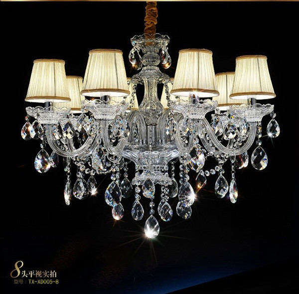 uxury Chandelier Crystal fashion K9 Top crystal lamp lighting modern crystal Lights Include Lampshade Room chandelier lighting