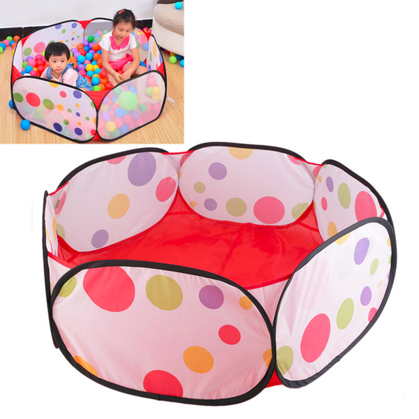 Hot Kids Play Game House Pool Children Ocean Ball Pool Tent Baby Educational Toy New Sale Baby Outdoor Indoor Sport Pool Toys