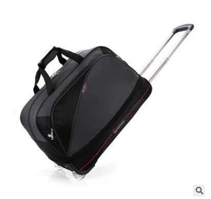 Homens Nylon Saco de Bagagem de Viagem com rodas Saco Homens Rolando s Viagens de Negócios Para bagagem mala de viagem sobre rodas