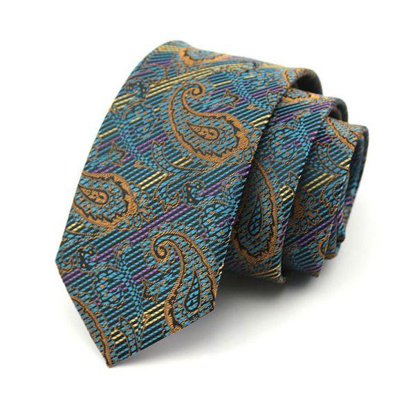 2018 herren frauen 7 cm dünne seidenkrawatte retro floral hochzeitsgeschäft krawatten dünne cravatta kravat erkek corbatas jacquard gravata