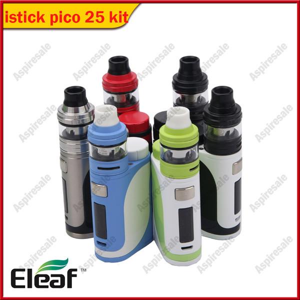 Original 85 W Eleaf iStick Pico 25 Vape Kit com 2 ml Tanque Ello 0.2ohm / 0.3ohm HW Bobina E-cig