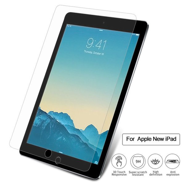 Tempered Glass For Apple iPad Pro 9.7 Air Mini 1 2 3 4 10.5 inch 2017 2018 Tablet Screen Protector 9H Toughened Protective Film Guard