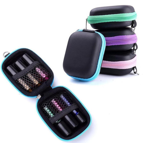 best selling 1pc Portable Essential Oils Storage Case Carry Case Esential Oil Roll On 5 ml Essential Oil Carrying Case