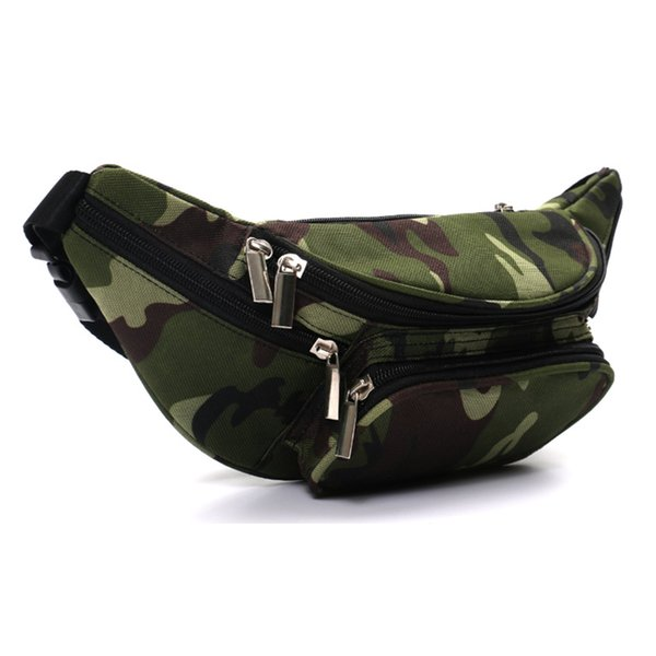 High Quality Ride Travel Camouflage Waist Bag Bananka Travel Leisure Fanny Pack Men And Women Walking Mountaineering Belly Band