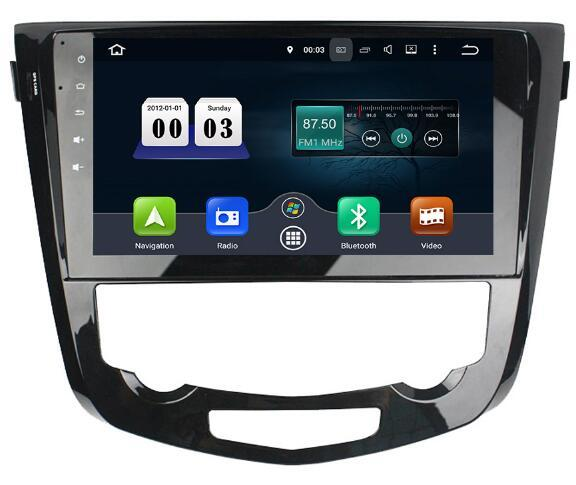 4G 32G 10.1 inch Android 8.0 Car Audio for Nissan Qashqai Xtrail 2013 - 2016 Stereo Vedio Headunit Multimedia Radio Gps Navi