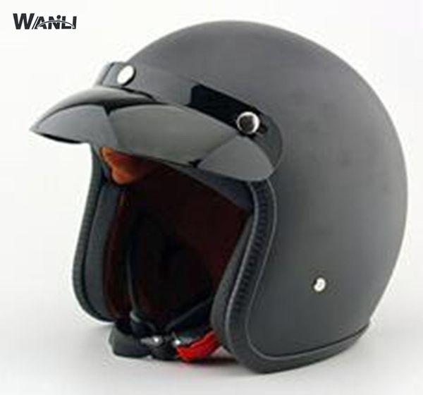 2017 new casco capacetes capacete da motocicleta retro capacete de motocross do vintage 3/4 capacetes de scooter de rosto aberto S ~ XXL