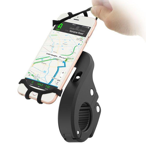 360 Degree Rotation Bicycle Phone Holder For Iphone X Iphone 8 Smartphone Bike Handlebar Mount Bracket Navigation Stand Holder C18110801