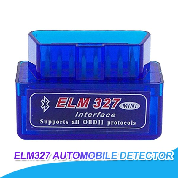 Süper Mini Teşhis Tarayıcı Araba Automotivo Escaner Automotriz Mini V2.1 ELM327 OBD2 ELM 327 Bluetooth Arabirimi Oto Araba Tarayıcı