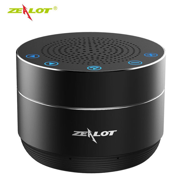 ZEALOT S19 Portable Wireless Bluetooth Speaker Column Bass Stereo Wireless Subwoofer TF Card Play With Microphone