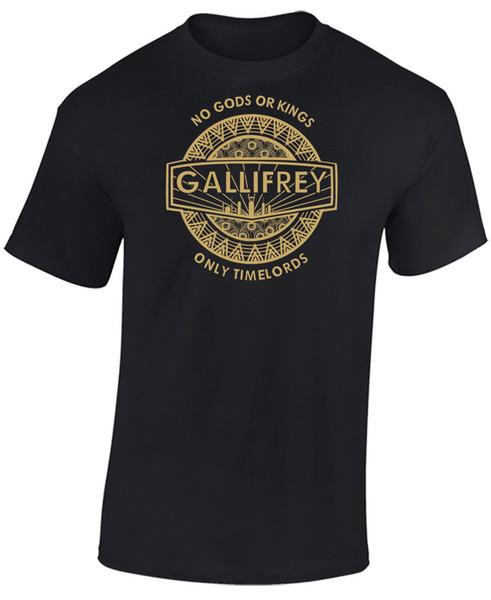 Seuls les Timelords Gallifrey Dr qui ont inspiré le T-shirt pour hommes - No Gods, No Kings, seulement Funny expédition gratuite Unisex Casual tee shirt