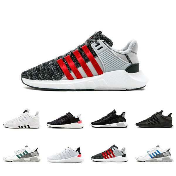2018 EQT 93 17 ultra shoe Support Future black white pink Coat of Arms Pack blue Men women turbo red casual sports Sneaker