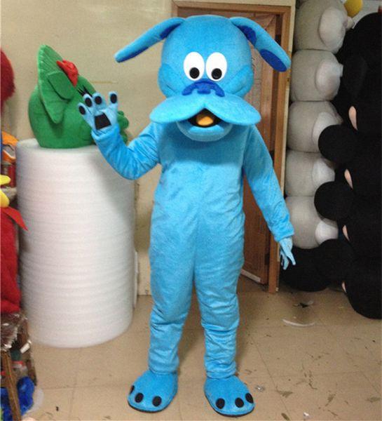 Tamaño adulto Traje de la mascota del perro Halloween Cumpleaños de Navidad Lindo Animal Perro Cachorro Vestido de carnaval Todo el cuerpo Atrezzo traje