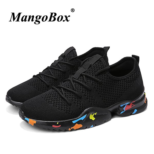 2019 2018 Man Running Shoes Black White Sneakers China Comfortable Mens Fitness Sneakers Lightweight Summer Sports Shoes Male From Longanguo, $32.69 |