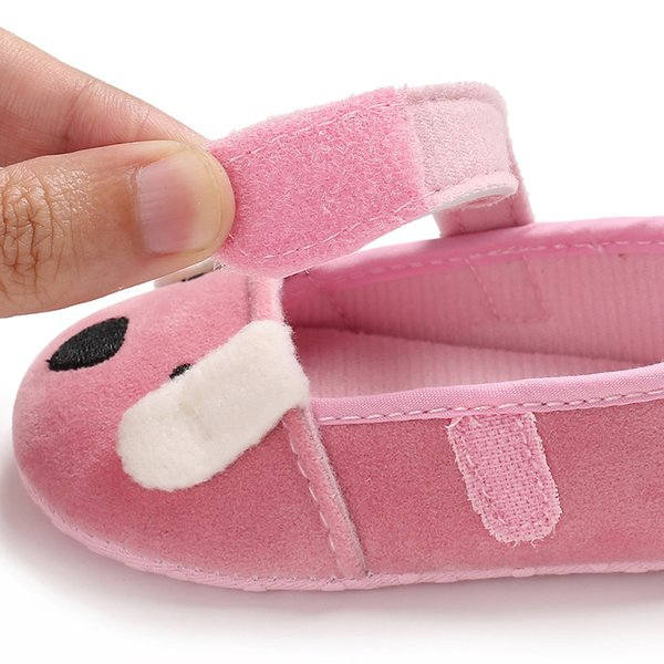 New Cute CANIS Unique Style Newborn Baby Moccasins Toddler Gifts Boy Girl Soft Cartoon Baby Shoes 0-18M