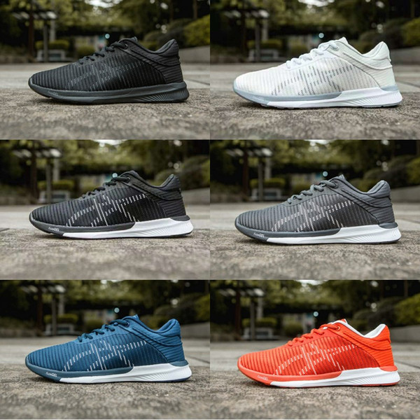 na stopach o na sprzedaż online kup popularne 2019 ASICS Fuzex Adapt Running Shoes OnitsukaTiger Men Women Designer Shoes  New Tech Cushion Athletic Shoes Size 40 45 From Wegosport, $100.51 | ...