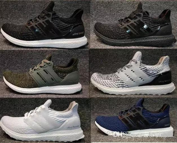 5bca73f1b Factory outlets Ultra boost 3.0 4.0 Run Shoes Men Women UltraBoost 3 III  Primeknit Runs White