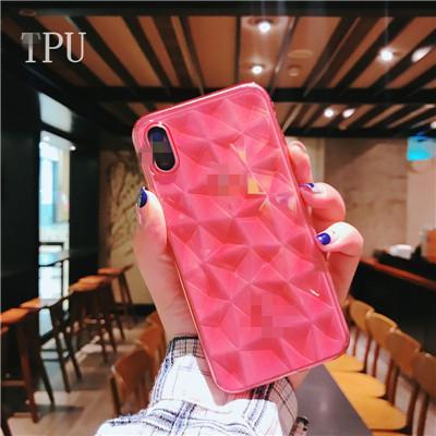 Für iphone6 / 7/8 / X, Super dünne Diamant Diamant TPU Softshell, Handy Schutzhülle.