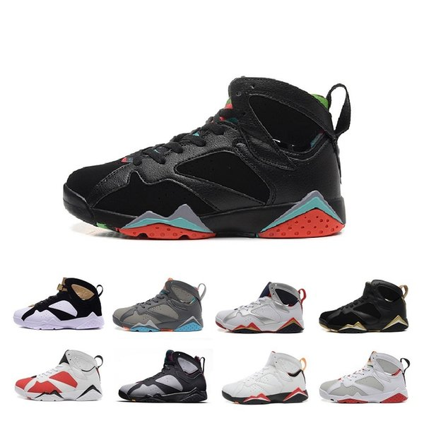 Hot Sale 7 VII 7s Basketball shoes air Women Men j7 Authentic Zapatos Nothing But Net Olympic Cigar Bordeaux Sports j7 retro Sneakers