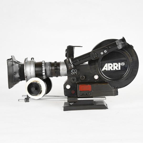 Camera Retro Metal Old Camera Model For Home Decoration Film Television Props Decoration Creative Home Decor Gift