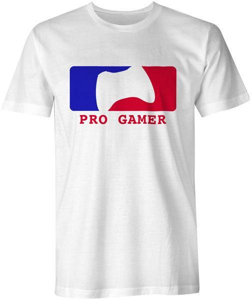 Pro Gamer Gaming Xbox Playstation CoD Halo GTA Tee футболка мужская смешные бесплатная доставка мужская повседневная tee подарок